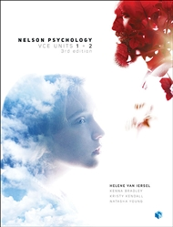 Nelson Psychology VCE Units 1 & 2 (Student Book with 4 Access Codes) - 9780170365604