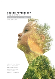 Nelson Psychology VCE Units 3 & 4 Student Activity Manual - 9780170365635