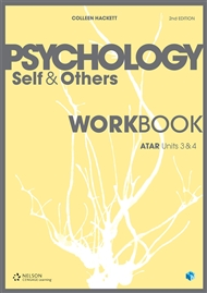 Psychology: Self & Others Workbook ATAR Units 3 & 4 - 9780170366304