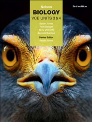 Nelson Biology VCE Units 3 & 4 (Student Book with 4 Access Codes) - 9780170368360