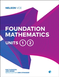 Nelson VCE Foundation Mathematics Units 1 & 2 - 9780170370752