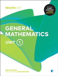 Nelson VCE General Mathematics Unit 1 (Student Book with 4 Access Codes) - 9780170370783