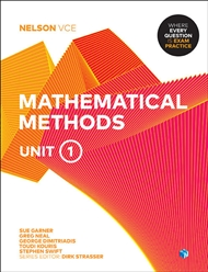 Nelson VCE Mathematical Methods Unit 1 (Student Book with 4 Access Codes) - 9780170370943
