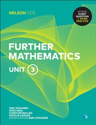 Nelson VCE Further Mathematics Unit 3 (Student Book with 4 Access Codes) - 9780170371100