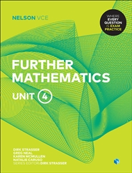 Nelson VCE Further Mathematics Unit 4 (Student Book with 4 Access Codes) - 9780170371186