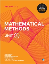 Nelson VCE Mathematical Methods Unit 4 (Student Book with 4 Access Codes) - 9780170371346