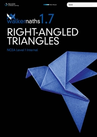 Walker Maths: Right-Angled Triangles 1.7 - 9780170371629