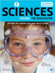 Sciences 7: Yours to Discover (Student Book with 4 Access Codes) - 9780170374484