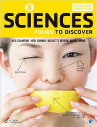 Sciences 8: Yours to Discover (Student Book with 4 Access Codes) - 9780170374569