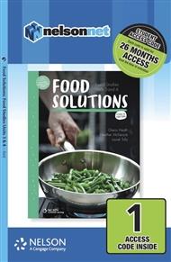 Food Solutions: Food Studies Units 3 & 4 1-code Access Card - 9780170378543