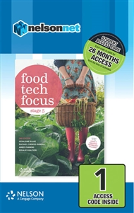 Food Tech Focus Stage 5 (1 Access Code Card) - 9780170383479