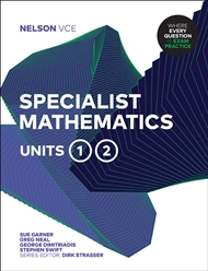 Nelson VCE Specialist Mathematics Units 1 & 2 (Student Book with 4 Access Codes) - 9780170386371
