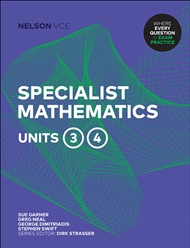 Nelson VCE Specialist Mathematics Units 3 & 4 (Student Book with 4 Access Codes) - 9780170386449