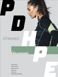 Dynamic PDHPE for Preliminary Student Book with 1 Access Code for 26 Months - 9780170386593