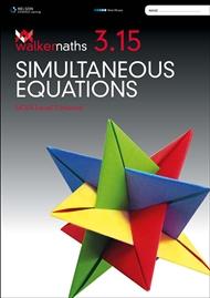 Walker Maths 3.15 Simultaneous Equations - 9780170389426