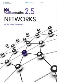 Walker Maths Senior 2.5 Networks - 9780170389433