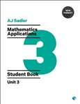 Sadler Maths Applications Unit 3 – Revised Format with 2 access codes