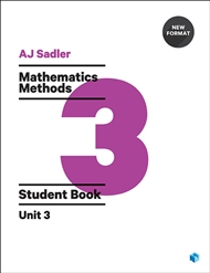 Sadler Maths Methods Unit 3 – Revised Format with 2 access codes - 9780170395137
