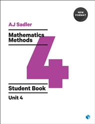 Sadler Maths Methods Unit 4 – Revised Format - 9780170395205
