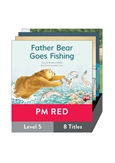 PM Red Guided Readers Fiction Level 5 Pack x 8