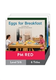 PM Red Guided Readers Non Fiction Level 5/6 Pack x 6