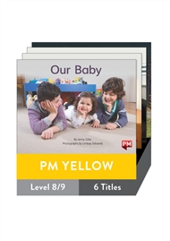 PM Yellow Guided Readers Non Fiction Level 8/9 Pack x 6 - 9780170398350