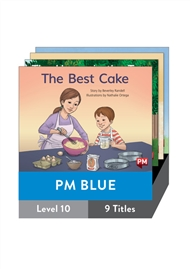 PM Blue Guided Readers Fiction Level 10 Pack x 9 - 9780170398374
