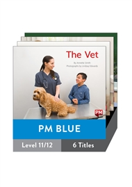 PM Blue Guided Readers Non Fiction Level 11/12 Pack x 6 - 9780170398398