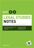 A+ Legal Studies Notes VCE Units 3 & 4