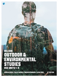 Nelson Outdoor & Environmental Studies VCE Units 1 –  4 with 4 Access Codes - 9780170401777