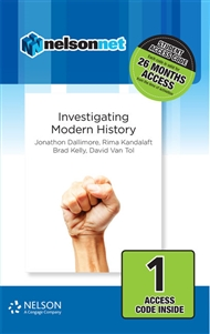 Nelson Modern History: Investigating Modern History (1 Access Code Card) - 9780170402064