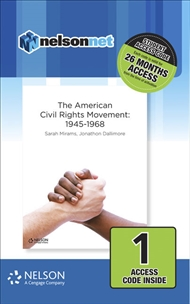 Nelson Modern History The American Civil Rights Movement: 1946-1968 (1 Access Code Card) - 9780170412155