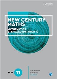 New Century Maths 11 Mathematics Standard (Pathway 1) Student Book - 9780170413503