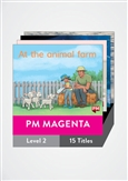 PM Magenta Guided Readers Level 2/3 Pack x 10