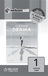 Living Drama (1 Access Code Card) - 9780170420044