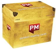 PM Gold Guided Reading Cards Level 21-22 X 20 with USB - 9780170421393
