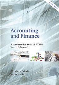 Accounting and Finance: A Resource for Year 11 ATAR and Year 12 General - 9780170423007