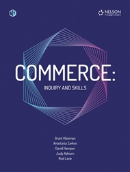 Commerce: Inquiry and Skills Student Book with 1 x 26 month access code - 9780170443494