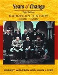 Years of Change: Europe 1890-1990 - 9780340775264